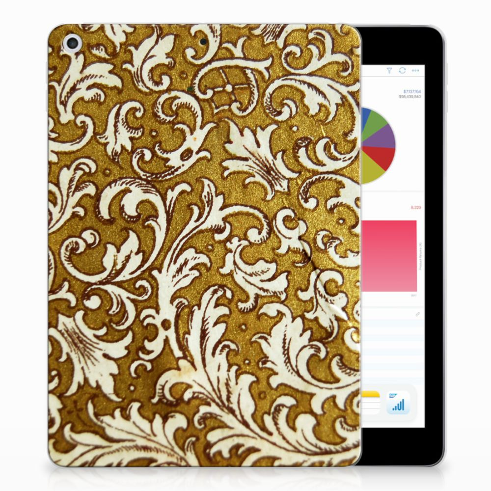 TPU Case Apple iPad 9.7 2018 | 2017 Barok Goud