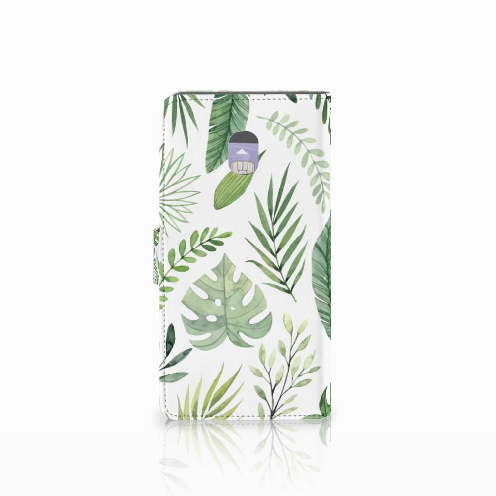 Samsung Galaxy J7 (2018) Hoesje Leaves