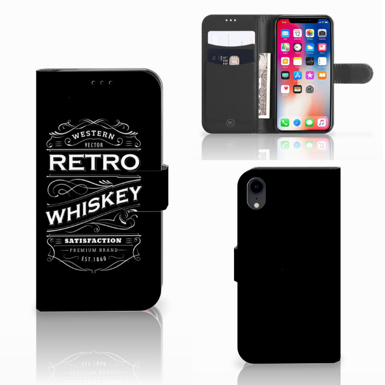 Apple iPhone Xr Book Cover Whiskey