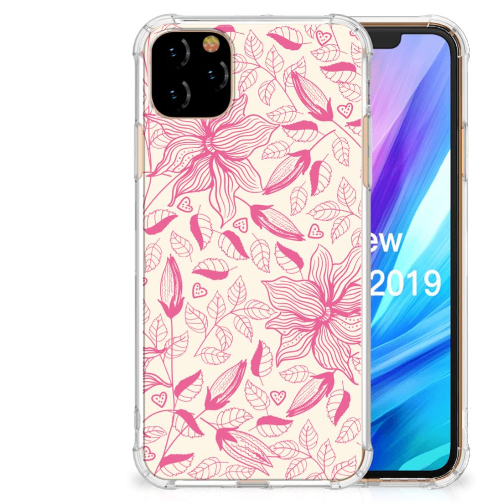 Apple iPhone 11 Pro Max Case Pink Flowers