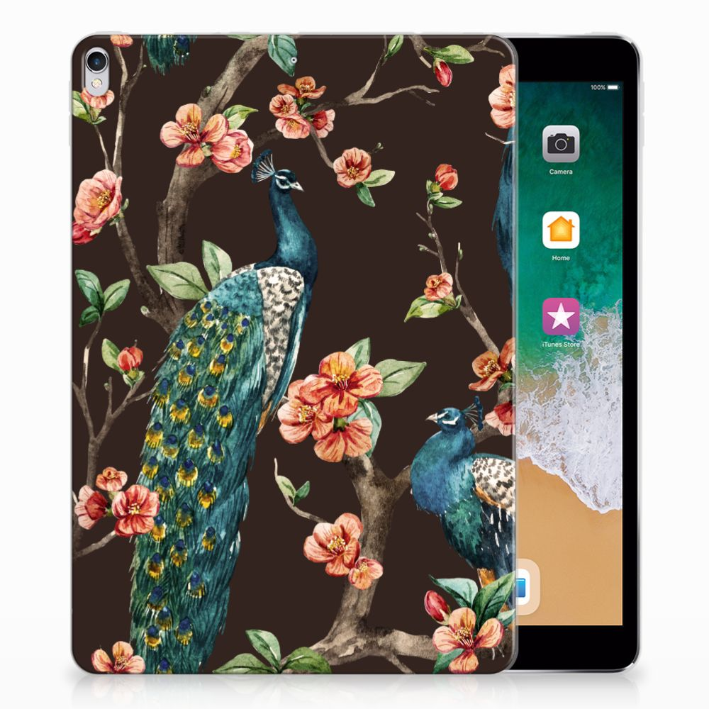 Apple iPad Pro 10.5 Tablethoesje Design Pauw met Bloemen