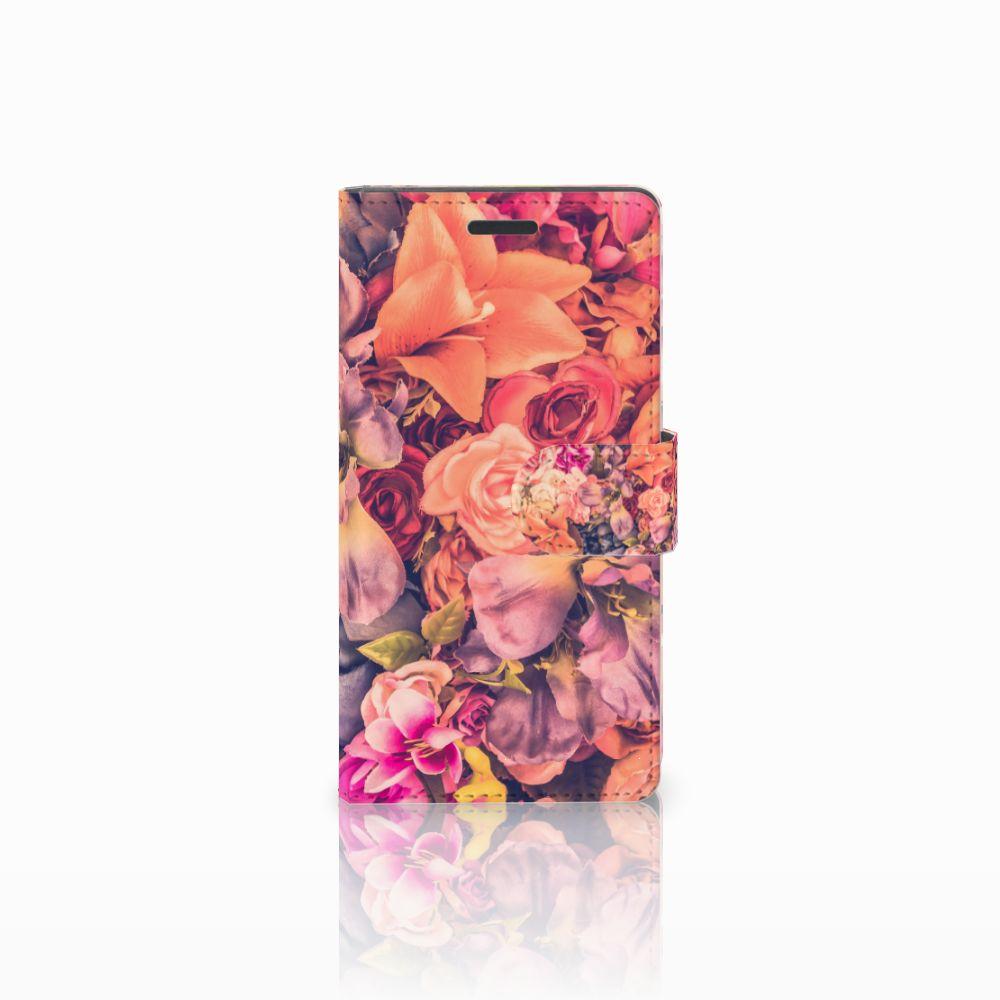 Nokia Lumia 830 Boekhoesje Design Bosje Bloemen