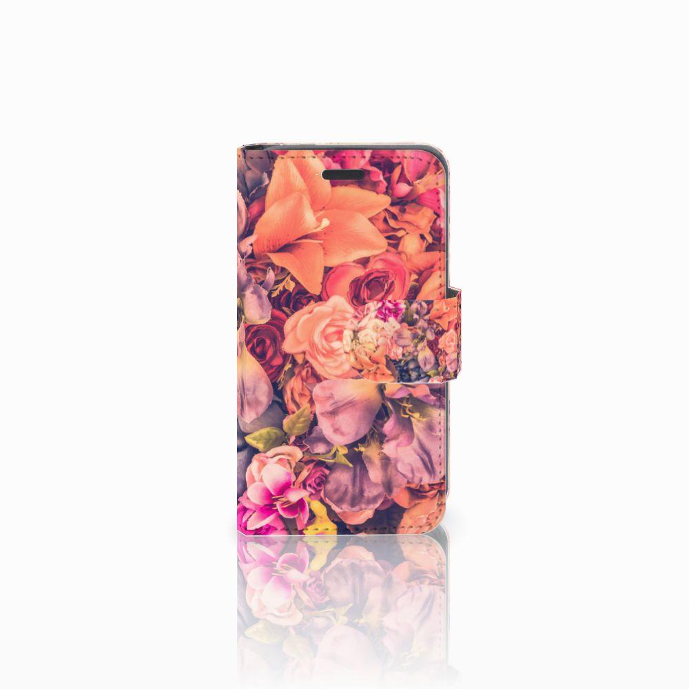Nokia Lumia 520 Boekhoesje Design Bosje Bloemen