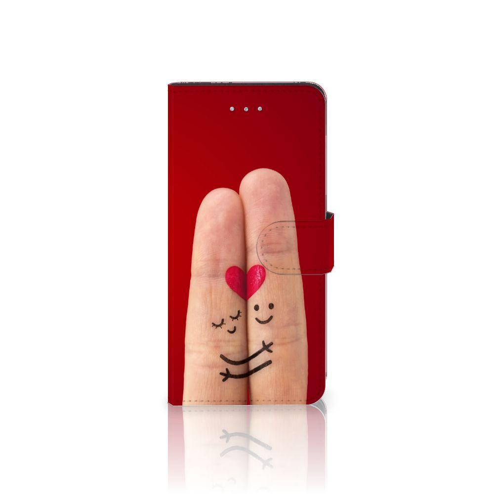 Apple iPhone 6 Plus | 6s Plus Uniek Boekhoesje Liefde