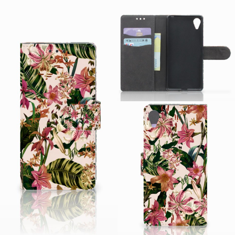 Sony Xperia X Performance Hoesje Flowers