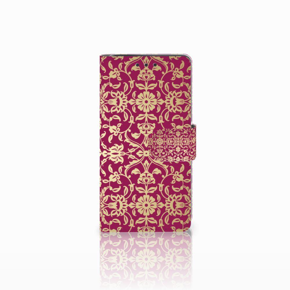 Sony Xperia X Boekhoesje Design Barok Pink