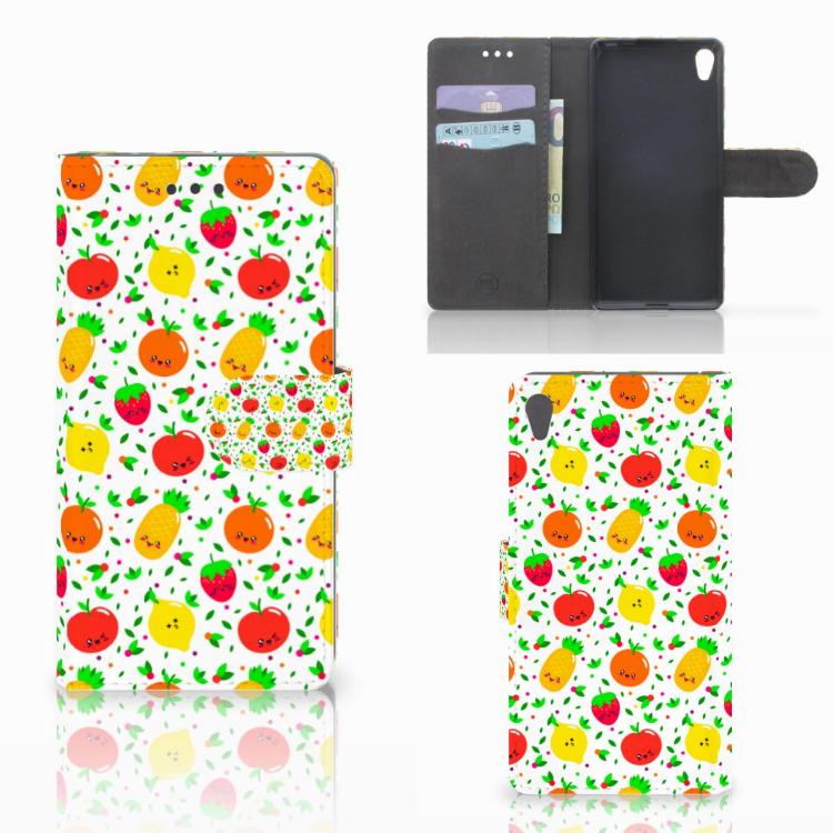Sony Xperia E5 Book Cover Fruits