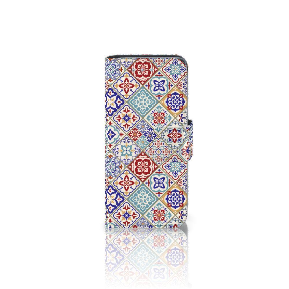 Samsung Galaxy S4 Mini i9190 Uniek Boekhoesje Tiles Color