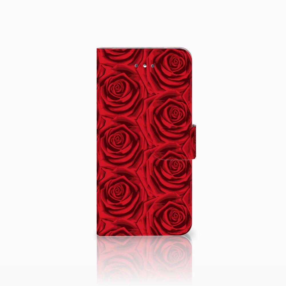 LG Nexus 5X Uniek Boekhoesje Red Roses
