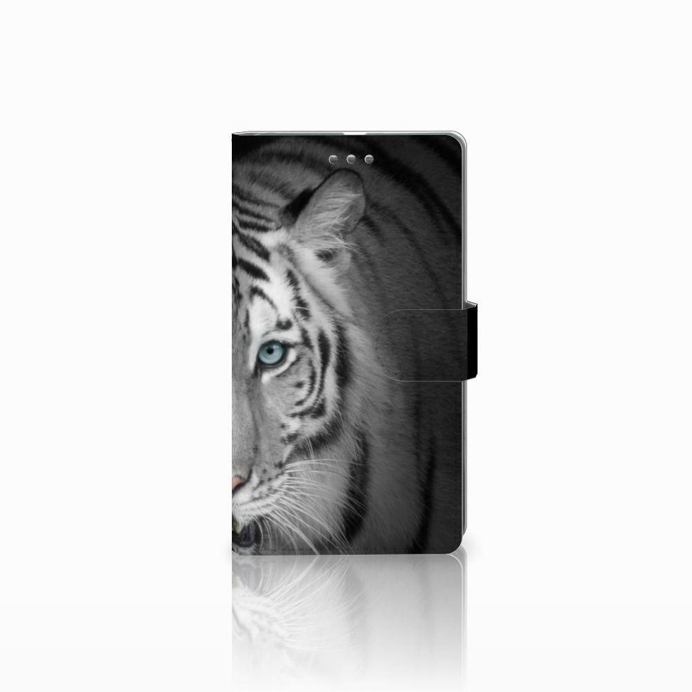 Microsoft Lumia 950 XL Uniek Boekhoesje Tijger