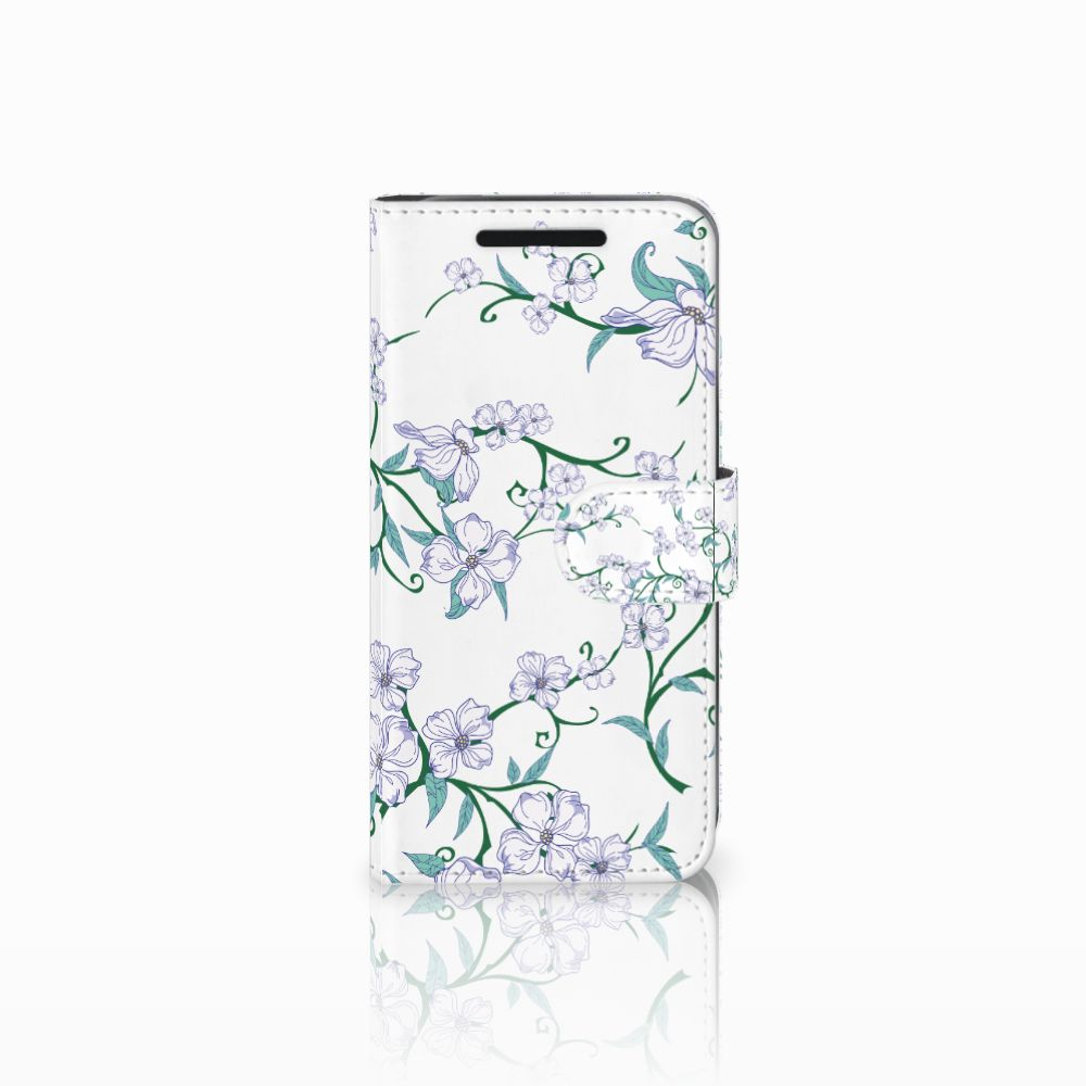 HTC One M9 Uniek Boekhoesje Blossom White