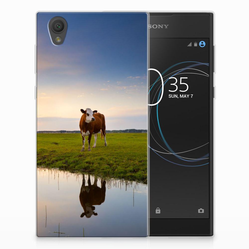 Sony Xperia L1 TPU Hoesje Design Koe