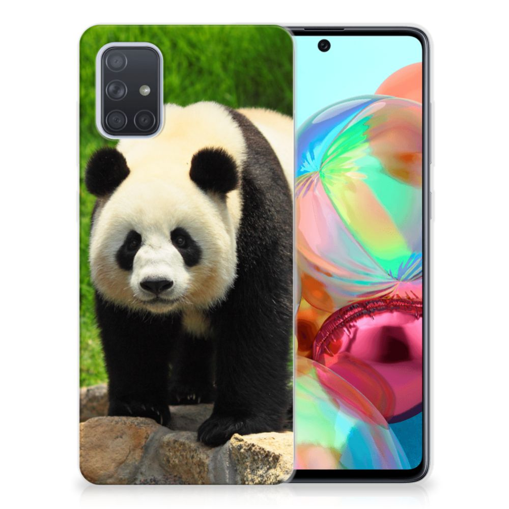 Samsung Galaxy A71 TPU Hoesje Panda