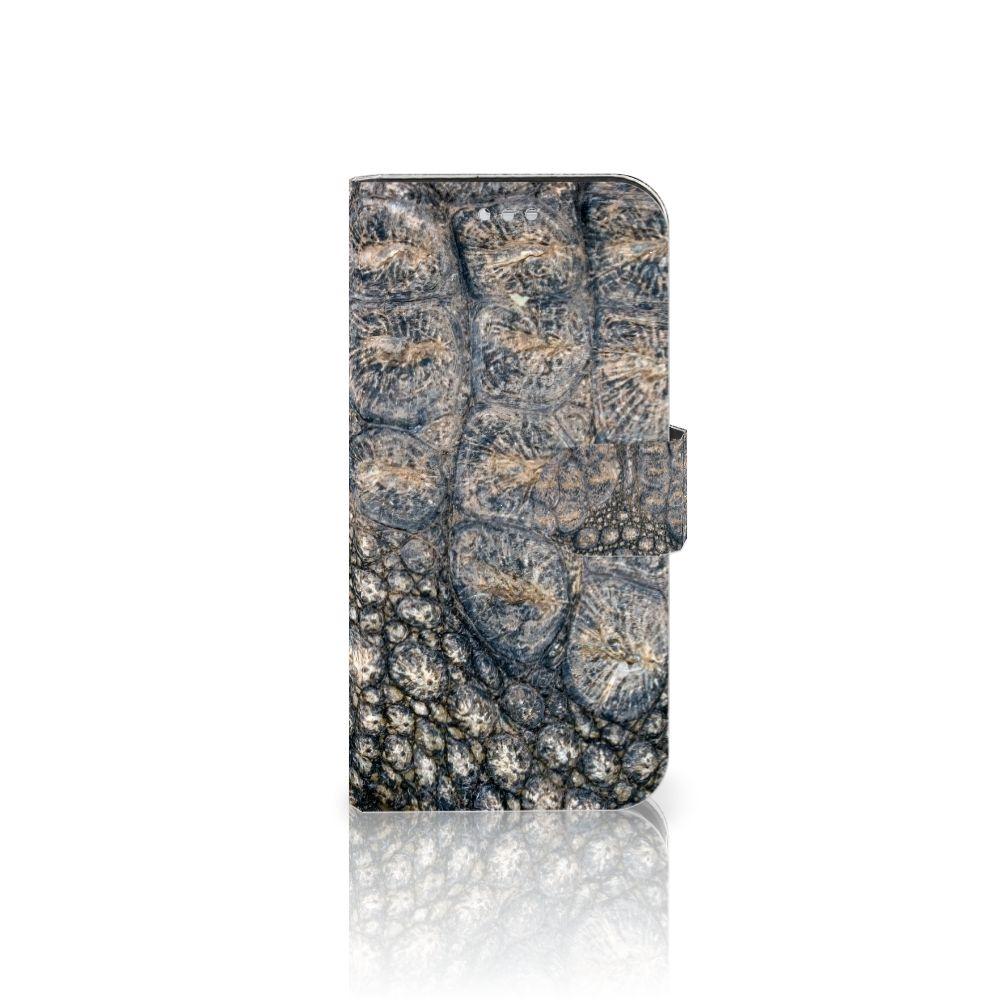 Samsung Galaxy S7 Uniek Boekhoesje Krokodillenprint