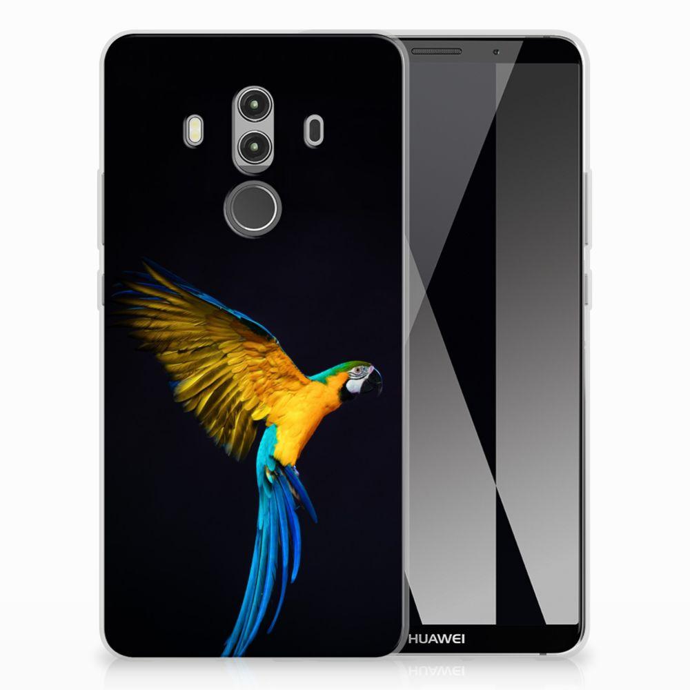 Huawei Mate 10 Pro TPU Hoesje Papegaai