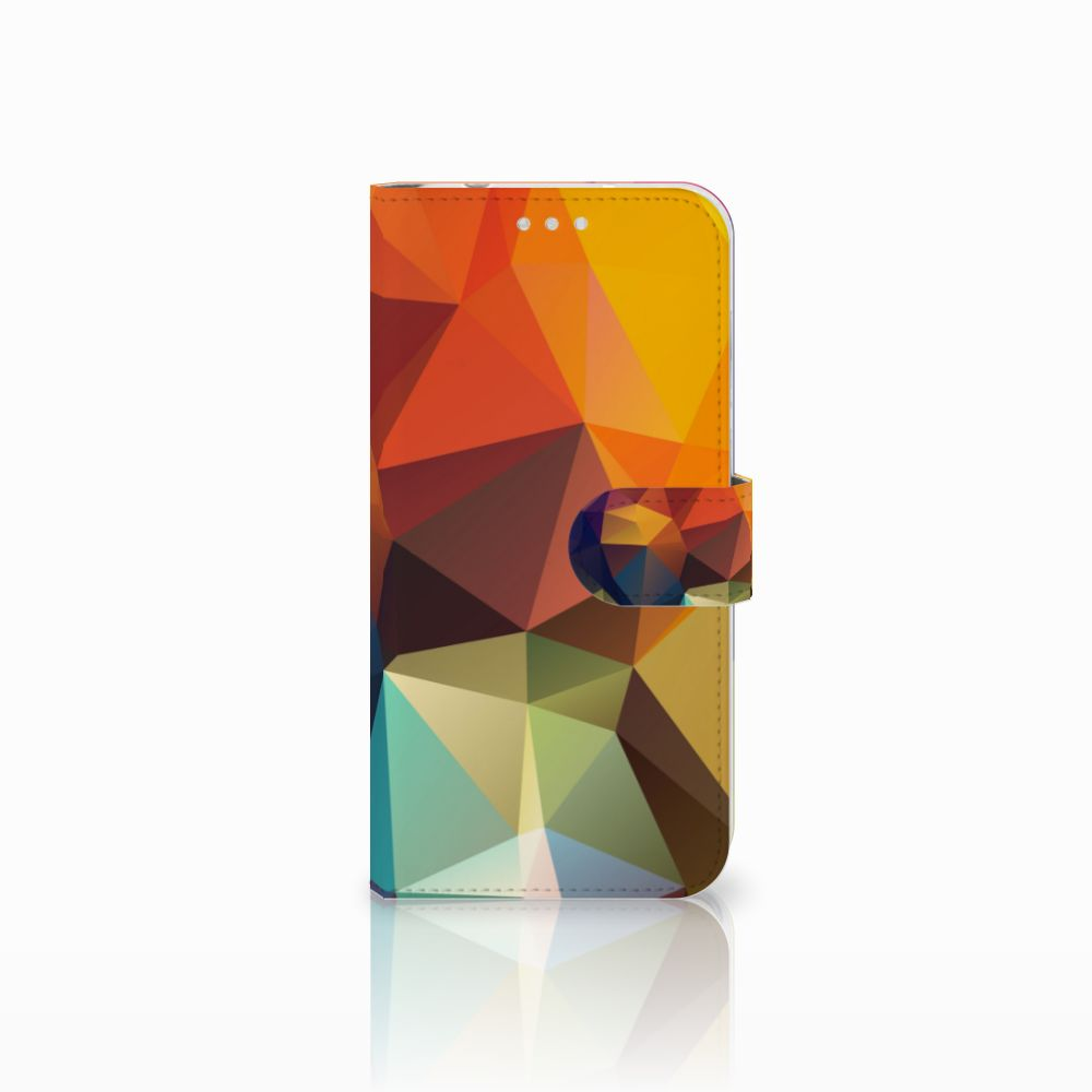 Huawei P20 Pro Bookcase Polygon Color