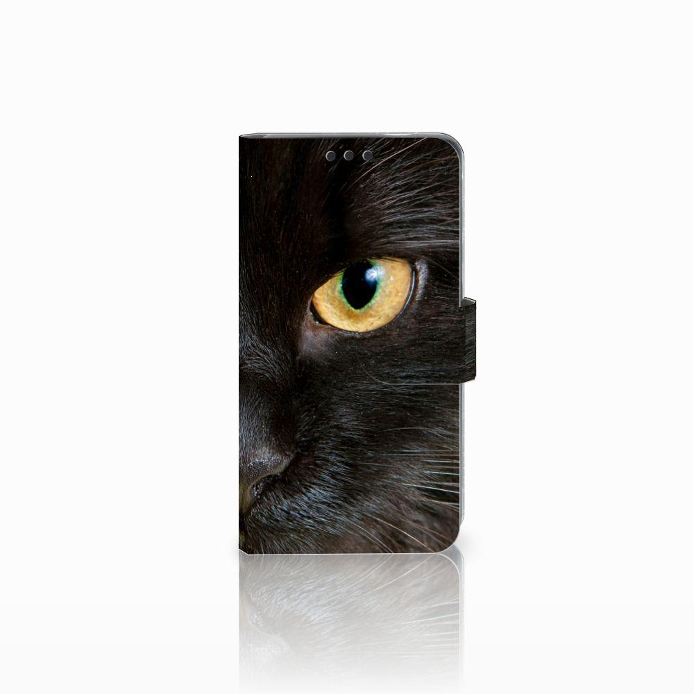 Nokia 3 Uniek Boekhoesje Zwarte Kat