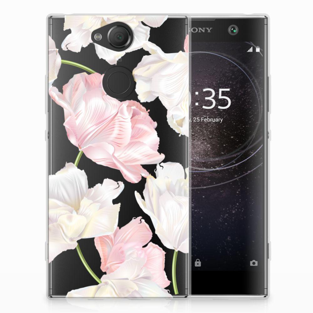Sony Xperia XA2 TPU Hoesje Design Lovely Flowers