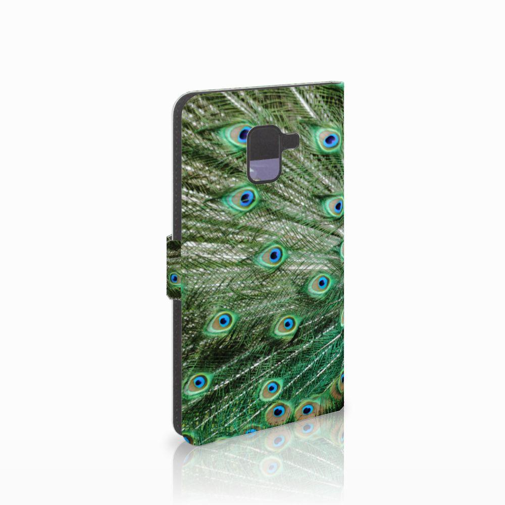 Samsung Galaxy A8 Plus (2018) Boekhoesje Design Pauw