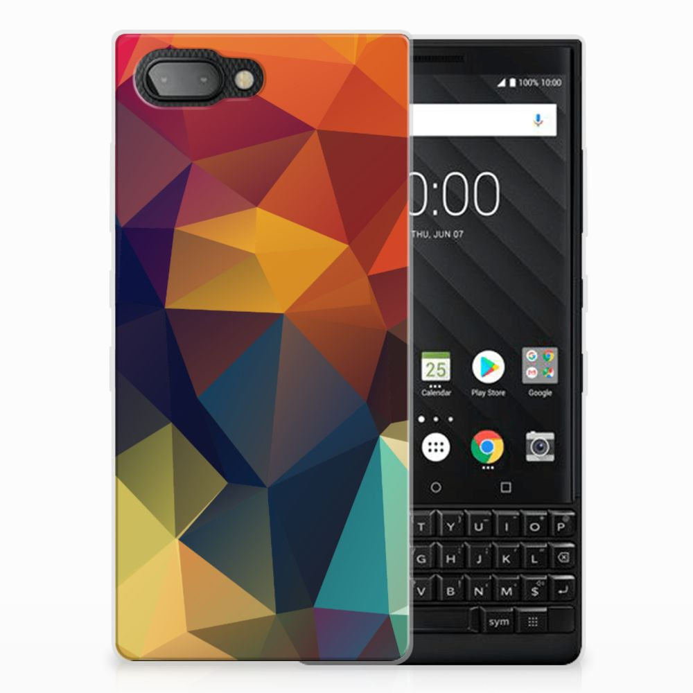 BlackBerry Key2 TPU Hoesje Polygon Color
