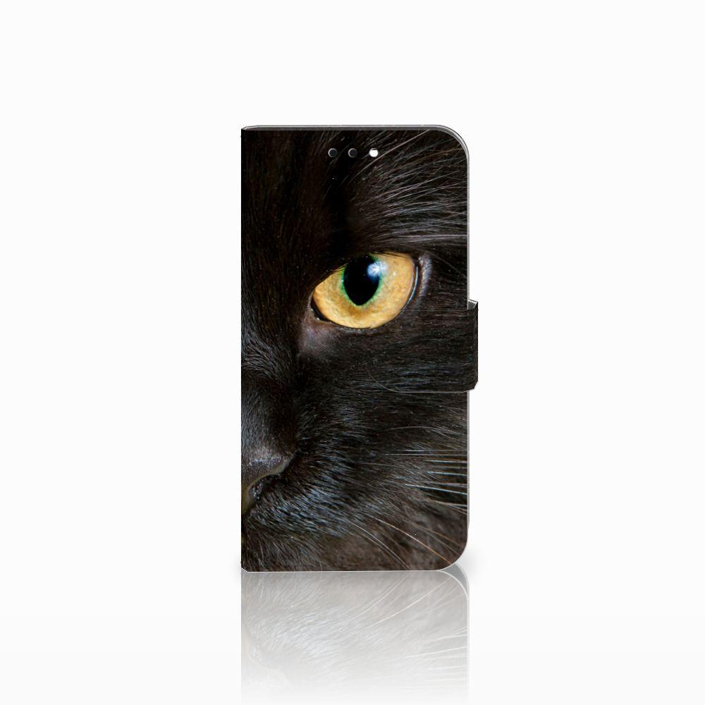 Huawei Nova 2 Uniek Boekhoesje Zwarte Kat