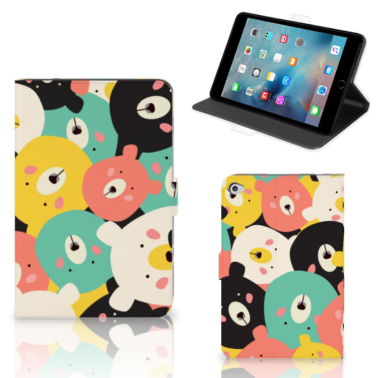 Apple iPad Mini 5 Hippe Tablet Hoes Bears