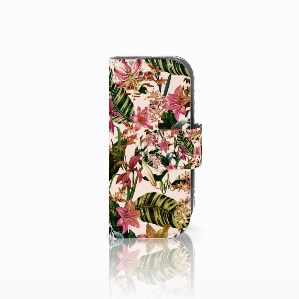Nokia 3310 (2017) Uniek Boekhoesje Flowers