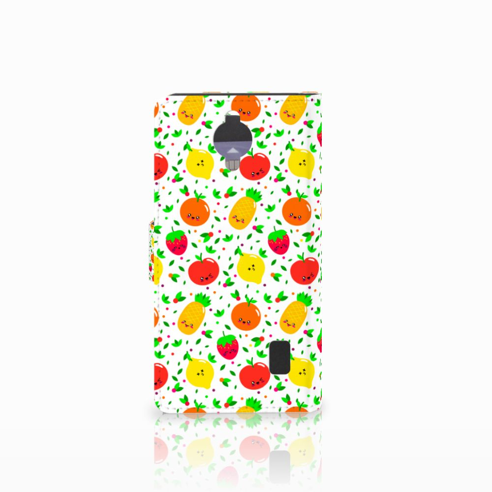 Huawei Y635 Book Cover Fruits