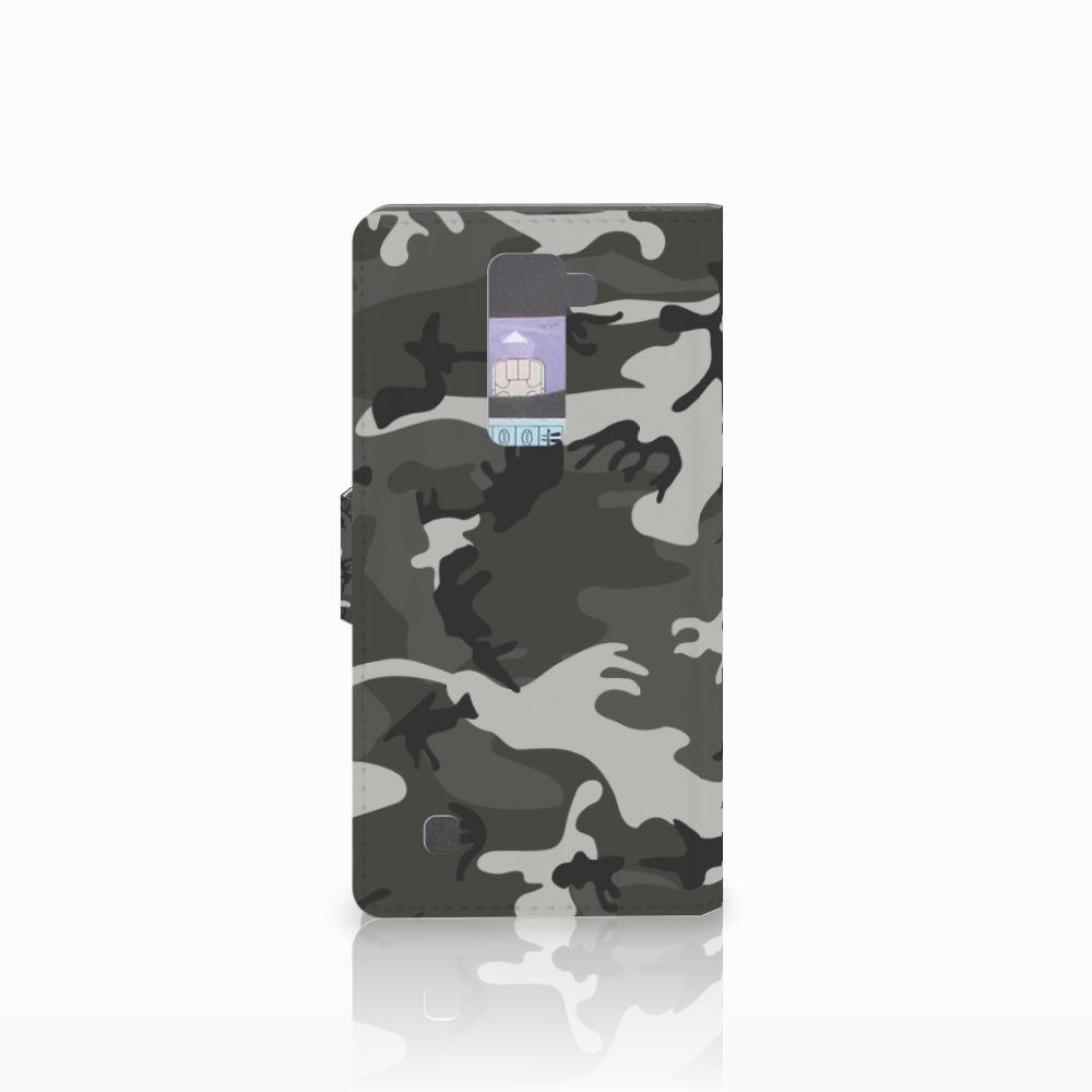 LG K10 2015 Telefoon Hoesje Army Light