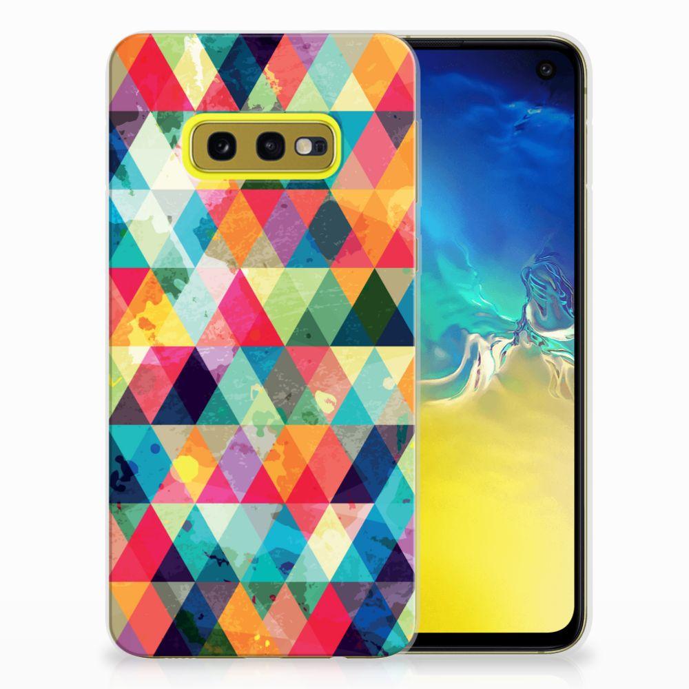 Samsung Galaxy S10e TPU bumper Geruit