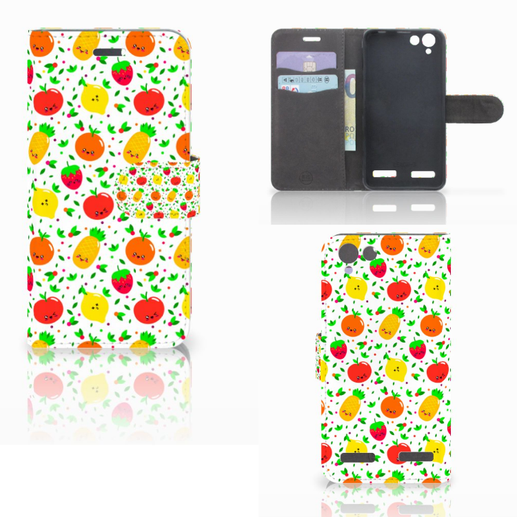 Lenovo Vibe K5 Book Cover Fruits