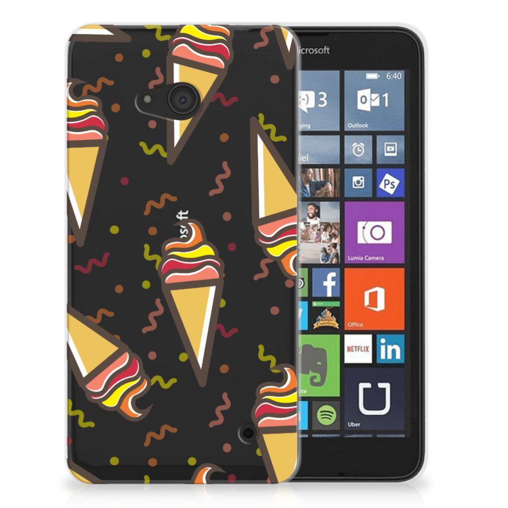 Microsoft Lumia 640 Siliconen Case Icecream