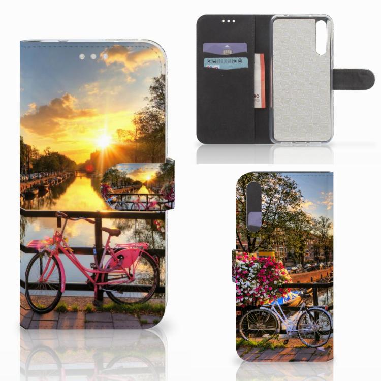 Huawei P20 Pro Flip Cover Amsterdamse Grachten