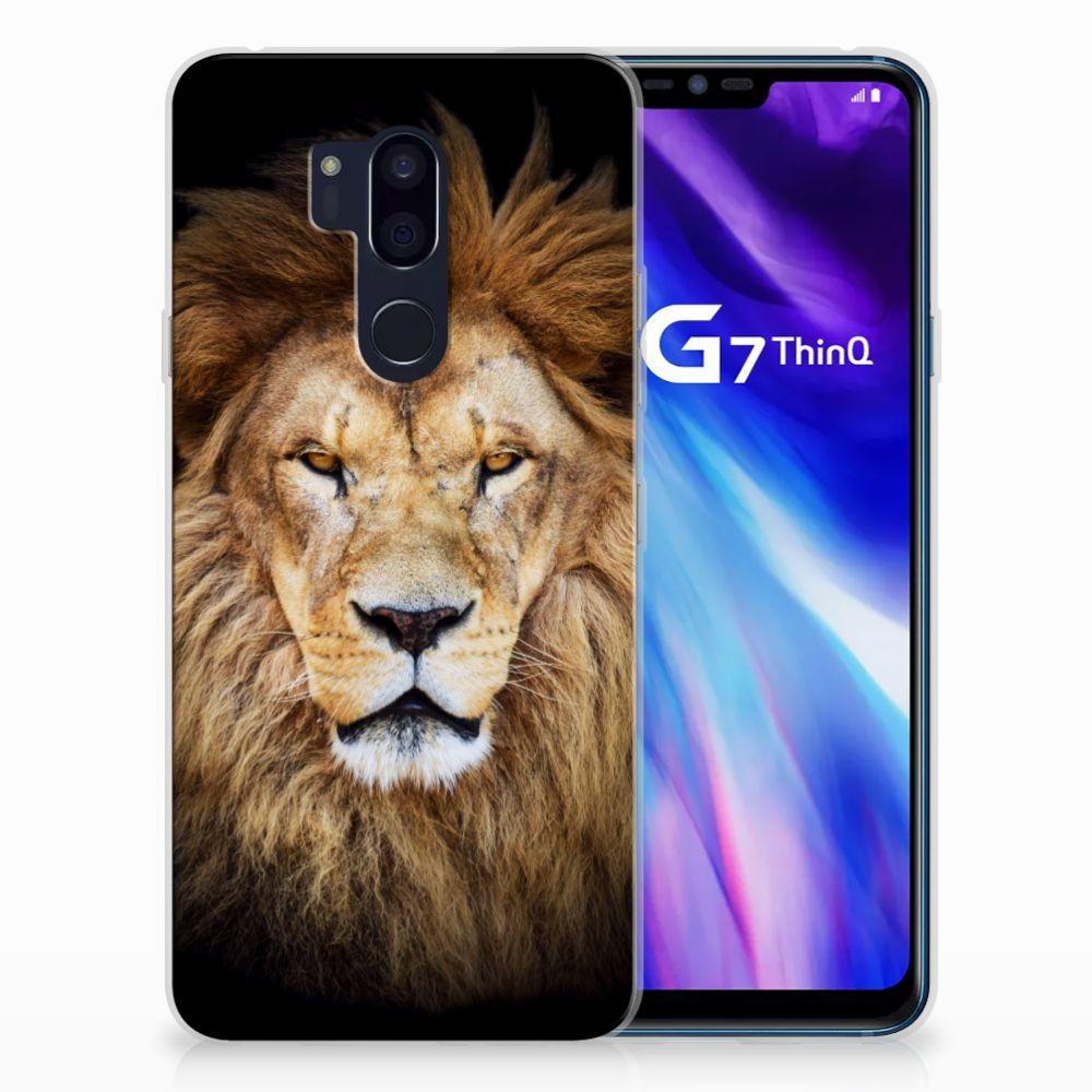 LG G7 Thinq TPU Hoesje Leeuw