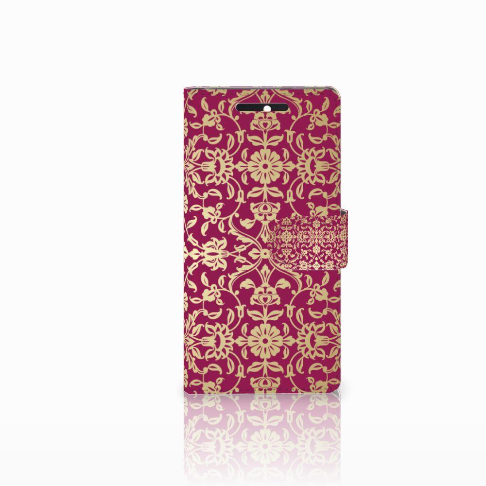 Wallet Case HTC Desire 628 Barok Pink