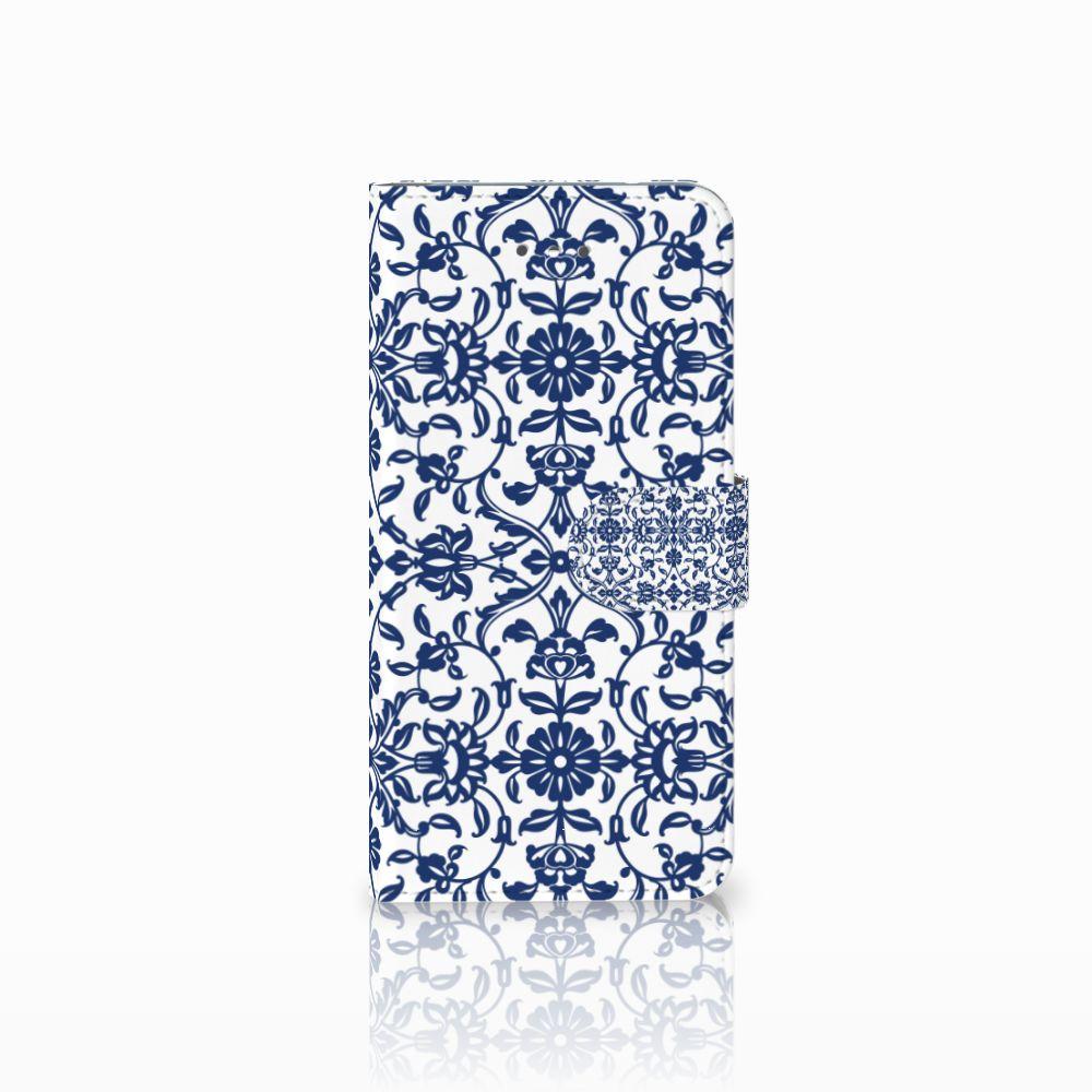 LG Nexus 5X Boekhoesje Flower Blue