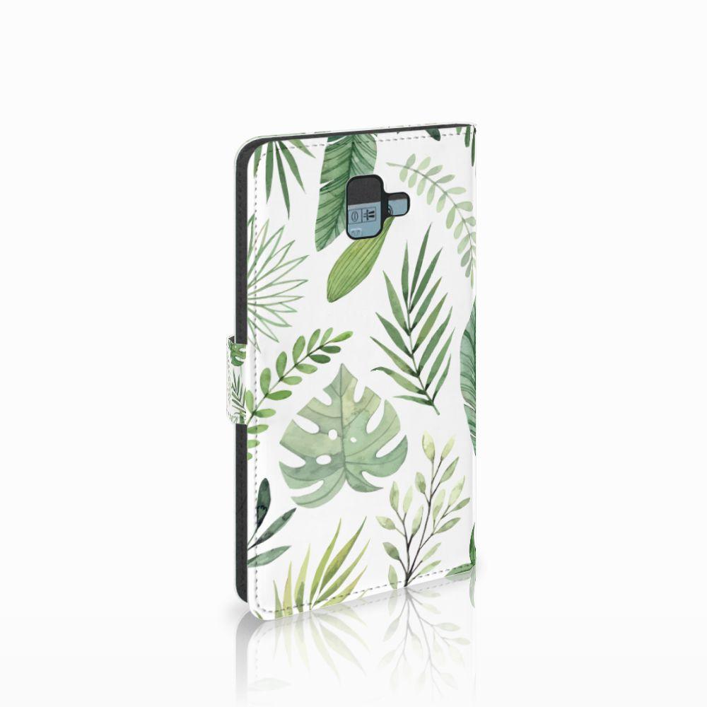 Samsung Galaxy J6 Plus (2018) Hoesje Leaves