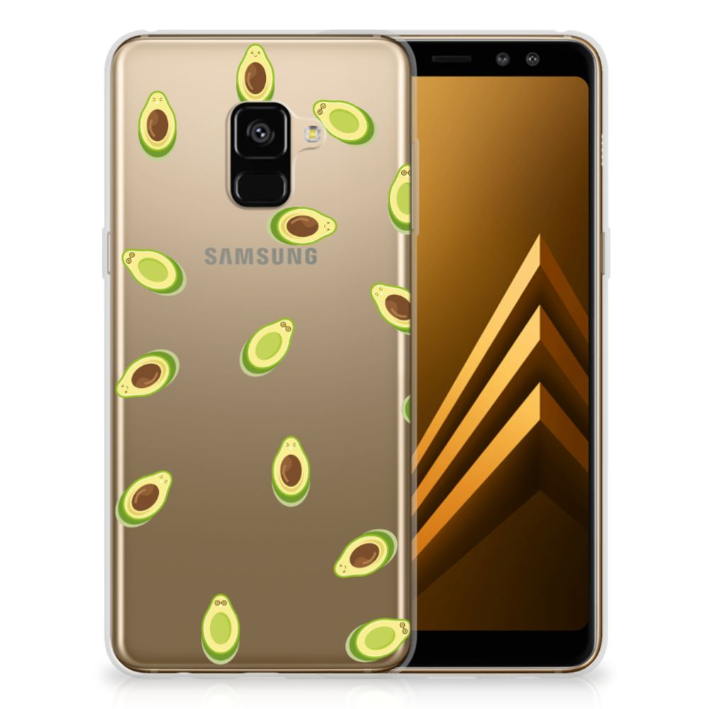 Samsung Galaxy A8 Plus (2018) Siliconen Case Avocado