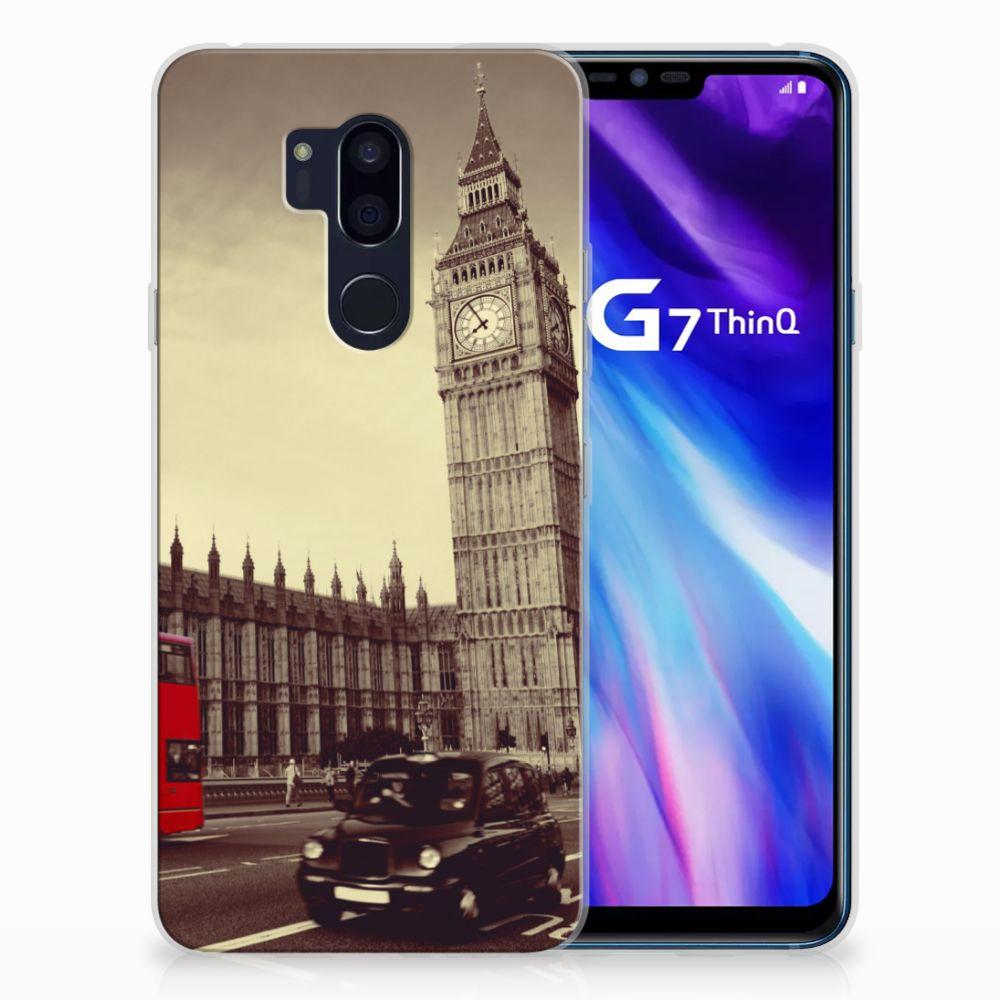 LG G7 Thinq TPU Hoesje Design Londen