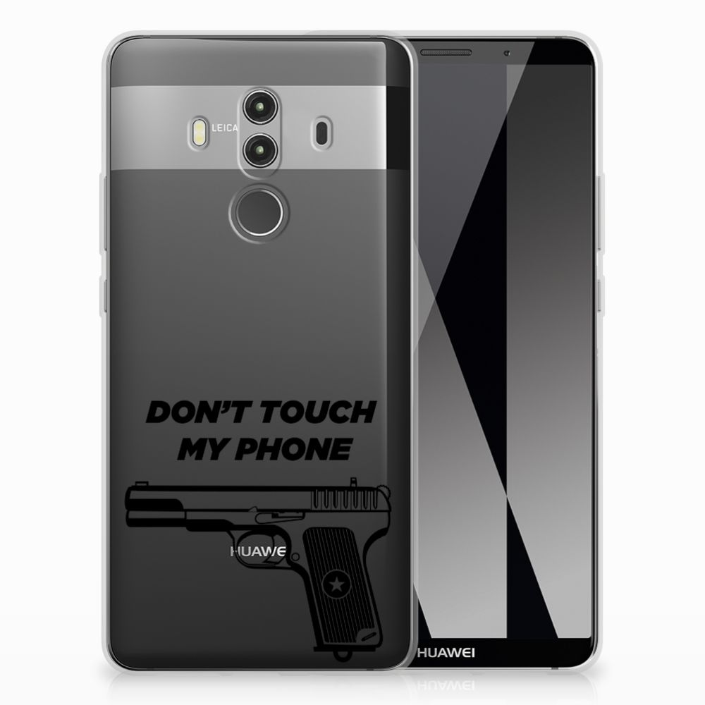 Huawei Mate 10 Pro Silicone-hoesje Pistol DTMP