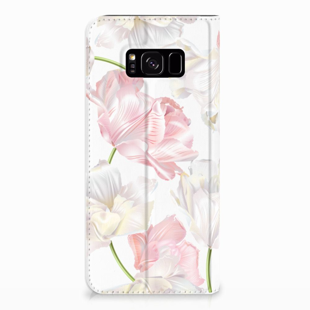 Samsung Galaxy S8 Plus Standcase Hoesje Design Lovely Flowers