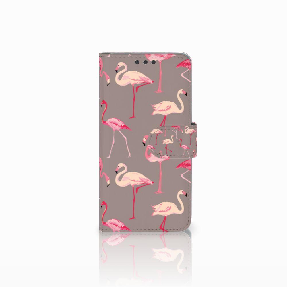 Microsoft Lumia 650 Uniek Boekhoesje Flamingo