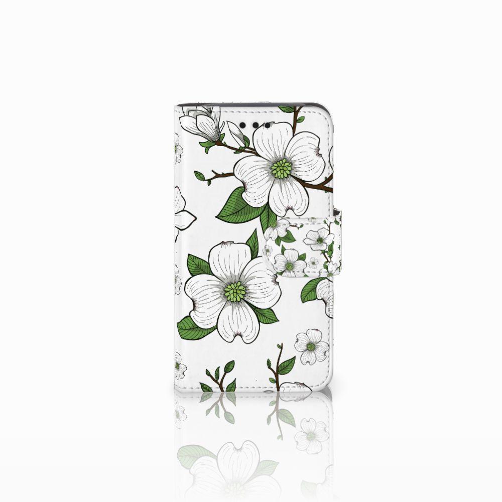 Samsung Galaxy Core i8260 Boekhoesje Design Dogwood Flowers