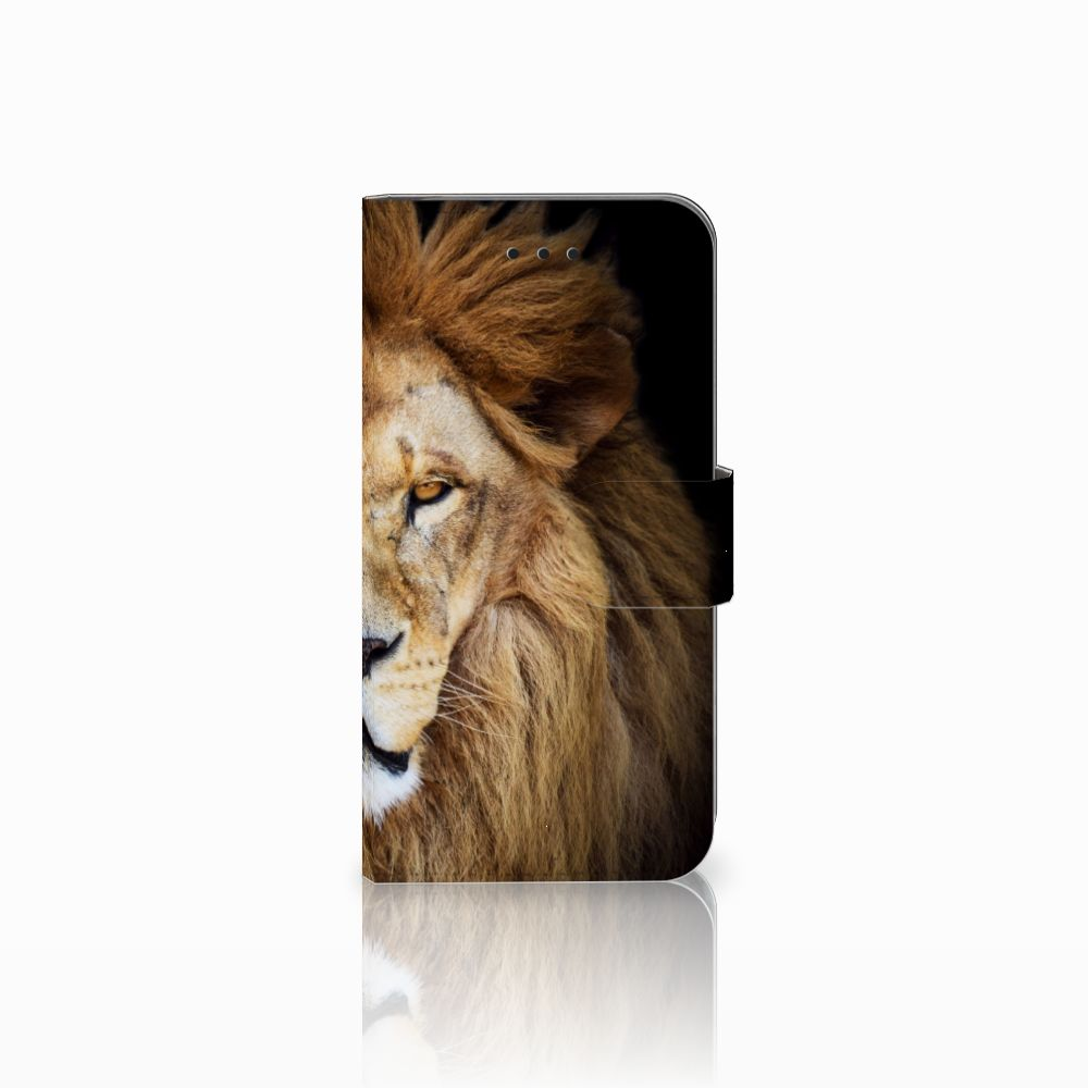 Apple iPhone X | Xs Boekhoesje Design Leeuw