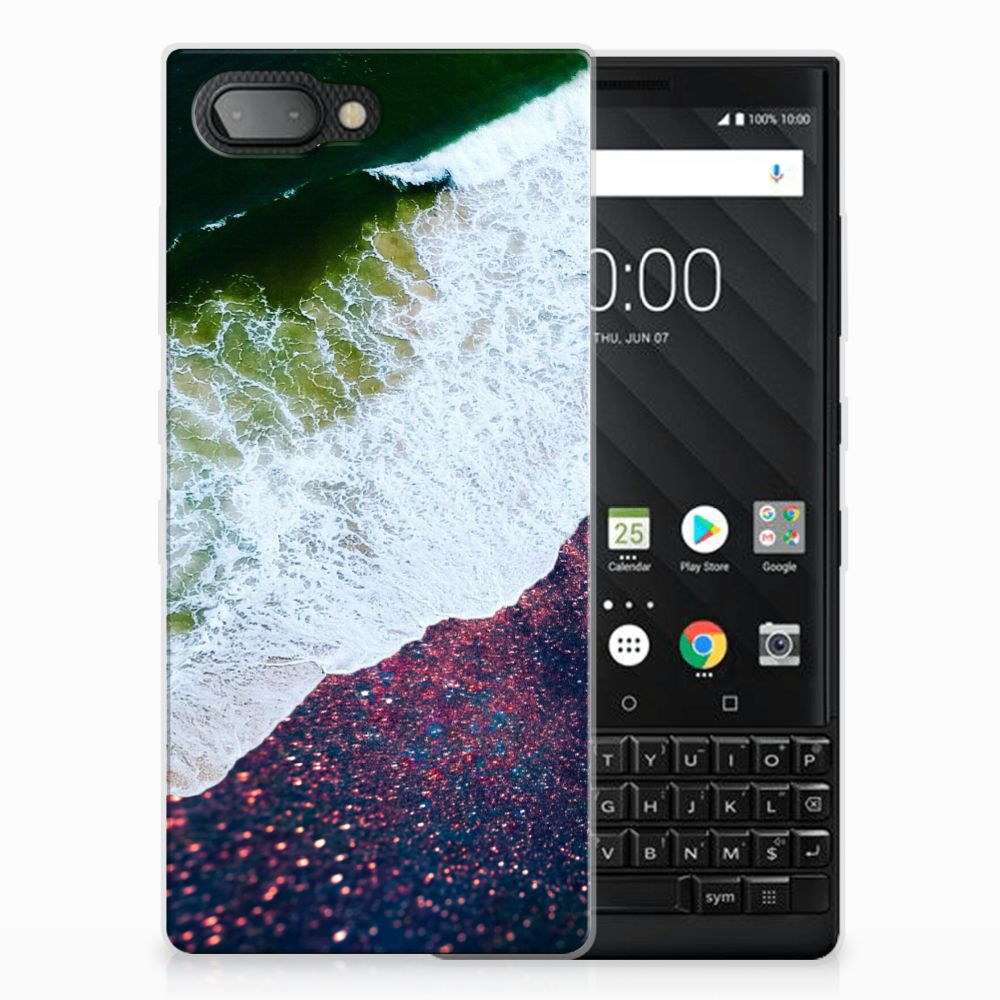 BlackBerry Key2 TPU Hoesje Sea in Space