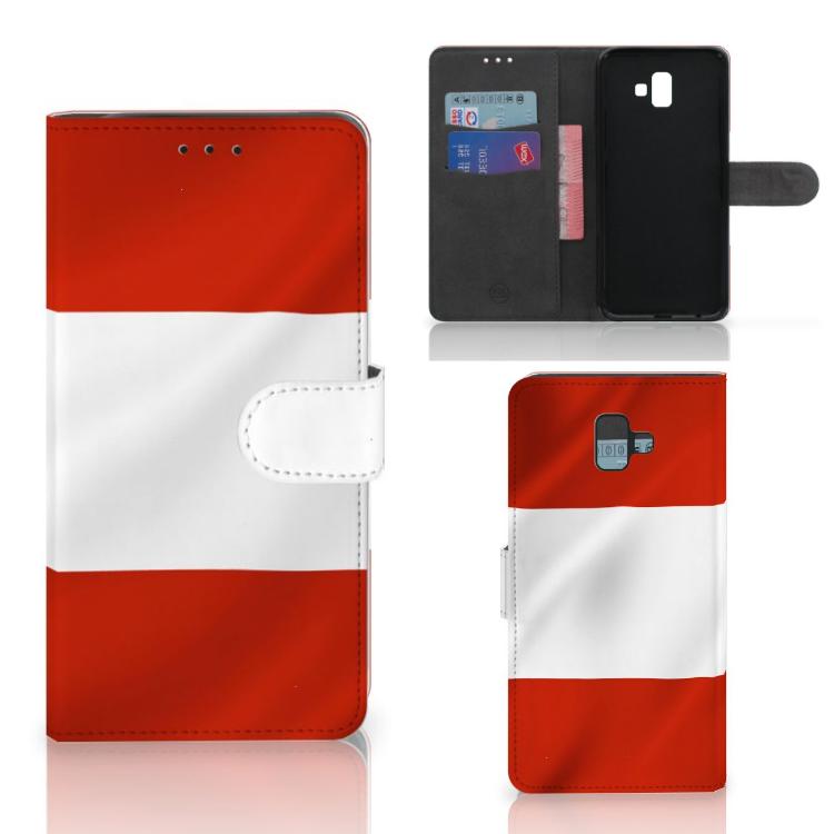 Samsung Galaxy J6 Plus (2018) Bookstyle Case Oostenrijk