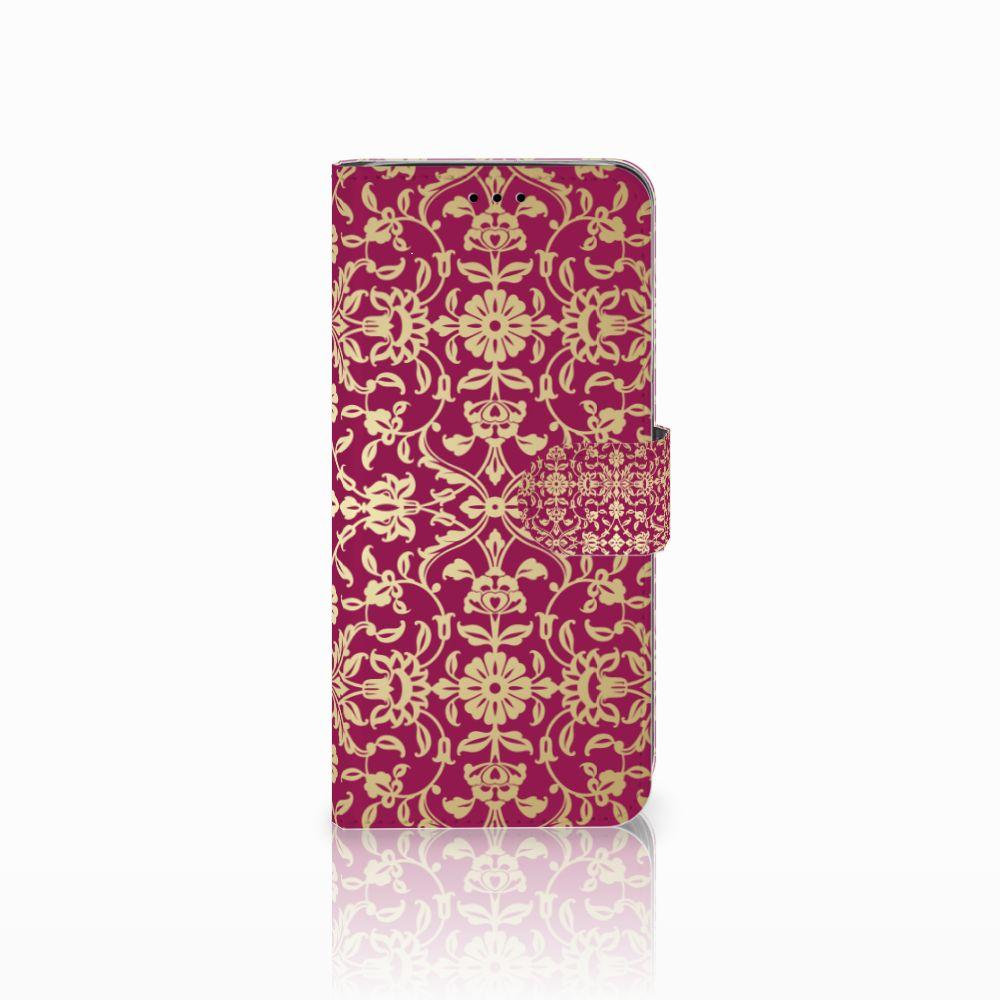 Samsung Galaxy A6 2018 Boekhoesje Design Barok Pink