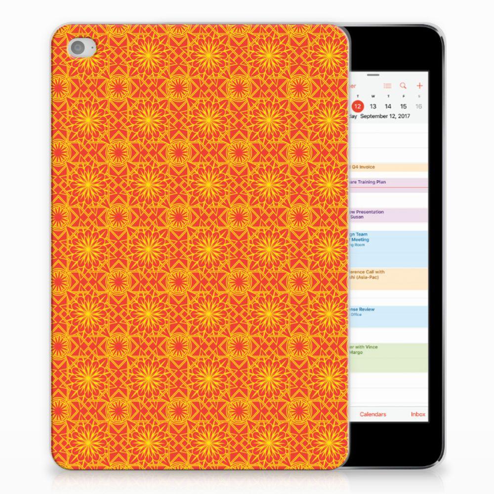 Apple iPad Mini 4 | Mini 5 (2019) Hippe Hoes Batik Oranje