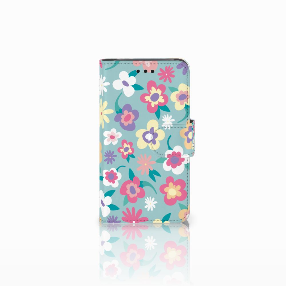 Samsung Galaxy Core i8260 Boekhoesje Design Flower Power