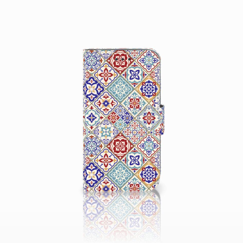 Samsung Galaxy Core Prime Uniek Boekhoesje Tiles Color